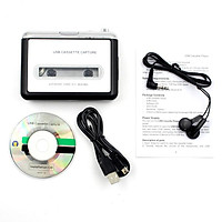 Cassette Player USB Walkman Cassette Tape Music Audio to MP3 Converter Player Save MP3 File to USB Flash/USB Drive