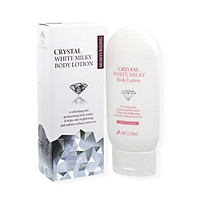 3W CLINIC - Kem ủ bật tone Crystal White Milky Body Lotion