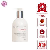 Kem Dưỡng Thể Trắng Da Caryophy 3in1 Glass Skin In Shower Body Tone Up Cream 300G