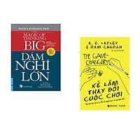Combo 2 cuốn sách: Dám Nghĩ Lớn + Kẻ làm thay đổi cuộc chơi