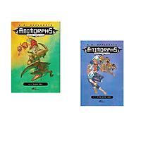 Combo 2 cuốn sách: Animorphs - Người hóa thú - Tập 12: Phản ứng +  Animorphs - Người hóa thú - Tập 11: Miền quên lãng