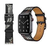Dây Da Classic Color cho Apple Watch 38mm / 40mm / 42mm / 44mm