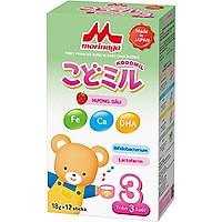 Sữa Morinaga Số 3 Hương Dâu - Kodomil (18g x 12 gói)