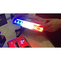 Đèn Police cảnh sát công an xanh trắng đỏ 9 mắt 02007 đỏ trắng xanh 9W xẻng hút ánh sáng LED bảng điều khiển công cụ