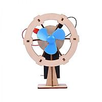 Bộ đồ chơi khoa học tự làm quạt điện mini bằng gỗ – DIY Wood Steam