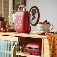 Máy làm bánh mì gấu nhà nhỏ đa chức năng máy ăn sáng ký túc xá lười biếng Máy làm bánh mì thông minh SMZ-B05N1
