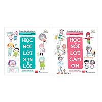 Combo Kỹ Năng Sống Dành Cho Học Sinh: Học Nói Lời Xin Lỗi + Học Nói Lời Cảm Ơn (2 Cuốn)