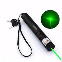 Đèn pin Laser Laze MV – 303 (Đen) tia xanh được tặng pin sạc và sạc