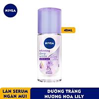 Lăn Ngăn Mùi Nivea Serum Trắng Mịn Hương Hoa Lily (40ml) 85310