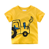 Summer Baby Kid Tees Cartoon Baby Boys Girls T Shirt For Summer Infant Kids Boys Girls T-Shirts Clothes Cotton Toddler Tops