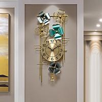 Đồng Hồ Treo Tường Cao Cấp Nhập Khẩu DHTT47 (Kích thước: 40 x 81 cm) sang trọng, máy siêu tĩnh thích hợp cho mọi không gian phòng của bạn kể cả phong cách hiện đại hay tân cổ điển.