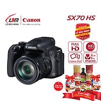 Máy ảnh Canon PowerShot SX70 HS - Hàng Chính Hãng Lê Bảo Minh