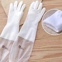 Găng tay cao su cho mùa đông, găng tay rửa bát siêu thông minh