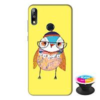 Ốp lưng điện thoại Asus Zenfone Max Pro M2 hình Ong Vàng tặng kèm giá đỡ điện thoại iCase xinh xắn - Hàng chính hãng