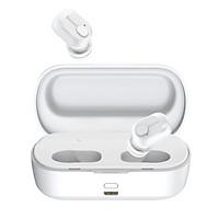 Tai nghe không dây True Wireless Baseus Encock W01 Earphones ( Bluetooth V5.0, Waterproof, Charging Case ) - Hàng chính Hãng