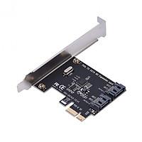Card PCI-E mở rộng ra 2 cổng SATA 3.0 không cần nguồn phụ D00-250