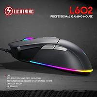 Chuột game Lightning L602 10.000DPI- hàng nhập khẩu