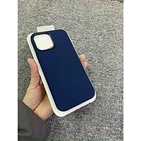 Ốp Lưng Silicone Dẻo Lót Nhung Nỉ Chống Sốc chống bẩn hạn chế bám vân tay Dành Cho iPhone 12/12 Pro, 12 Pro Max hỗ trợ Magsafe