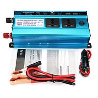 Solar Power Inverter 3000W LED Display 12V DC To 220V AC Sine Wave Converter Lot