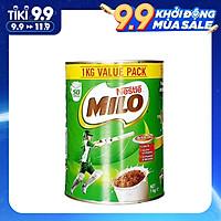 Sữa bột Milo Nestle chính hãng nội địa Úc 1kg - Phát triển chiều cao, tràn đầy năng lượng