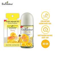 Lăn khử mùi nước hoa Enchanteur Charming/Magic 50ml - Tặng Nước hoa bỏ túi Charming 18ml NYP