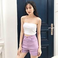 Áo Thun Croptop Bò Sữa Đan Eo Phong Cách Ulzzang Hottrend
