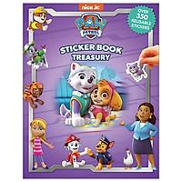 Nick Paw Patrol Girls Sticker Book Treasury