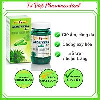 TPCN-Robinson Pharma USA-ALOVERA Green-Viên uống đẹp da,hỗ trợ giữ ẩm cho da,nhuận tràng
