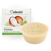 Xà bông dừa Tẩy tế bào chết Coboté - Sả Tươi - Handmade - 100% thiên nhiên - Công thức dừa toàn phần
