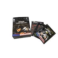 Dầu Gội Đầu Đen Tóc OHBAMA CHÍNH HÃNG - Gội Là Đen OHBAMA tóc đen mượt tự nhiên - Hộp 5 Gói