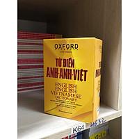 Từ điển Oxford Anh Anh Việt ( bìa vàng hộp )( tái bản mới nhất 2020 kt)