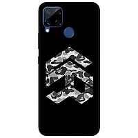 Ốp lưng dành cho Realme C11 - C12 - C15 - mẫu Năm Bape Xám