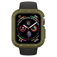 Ốp Spigen Apple Watch Series 5 / 4 (44mm) Case Rugged Armor - hàng chính hãng