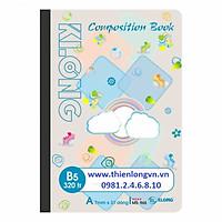 Sổ may dán gáy B5 - 320 trang; Klong 965 mẫu 2