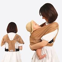 Địu vải Jumy, địu em bé bằng cotton cao cấp siêu dịu nhẹ, thoáng mát khi tiếp xúc với làn da trẻ nhỏ - Full màu