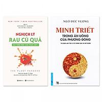 Combo 2 cuốn: Minh Triết Trong Ăn Uống Của Phương Đông, Nghịch Lý Rau Củ Quả: Sự