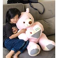 Gấu Bông Teddy  Happy Birth Day Siêu Đáng Yêu Làm Quà Tặng Ý Nghĩa