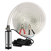 DC 12V Electric Submersible Pump Stainless Steel Submersible Pump for Water Diesel Oil
