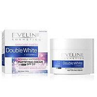 Kem dưỡng ngày đêm trắng da gấp đôi tinh chất vitamin C Eveline Skin Care Expert 50ml