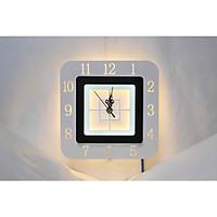 Đèn led treo tường trang trí tích hợp đồng hồ VL-E134
