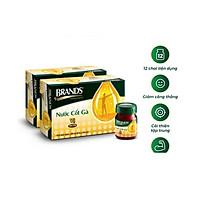 Combo 2 hộp nước cốt gà Brand's 42ml vị dịu nhẹ nhập từ Thái Lan
