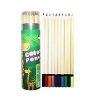 Bút Chì Màu Hộp Giấy Tròn SK-CP2002 (24 Màu/Hộp)