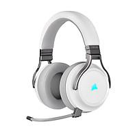 Tai nghe Corsair Virtuoso RGB Wireless White - Hàng Chính Hãng