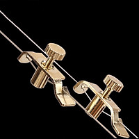 Profession Erhu Spinner Profession Metal Gold-plated Urheen Fine-tuning Music Instrument Accessories