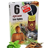 Hộp 6 nến thơm tinh dầu Tealight Admit Opium QT026071 - hương thảo dược