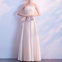 Đầm maxi cúp ngực dự tiệc mặc cưới TRIPBLE T DRESS - Size M/L (kèm ảnh/video thật)MS130Y