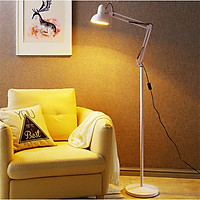Đèn cây đứng - đèn đọc sách PICKA trang trí phòng khách, phòng ngủ - kèm bóng LED tiết kiệm điện chống cận thị bảo vệ mắt. Chiều cao 1,85m. Hàng Chính Hãng MONSKY