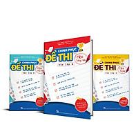 Combo chinh phục đề thi vào lớp 6 - Bộ 3 môn Toán, Tiếng Việt, Tiếng Anh
