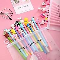 Set 20 bút bi nước Pony dễ thương, Set 20 chiếc Bút bi nước - Giao Mẫu Ngẫu Nhiên