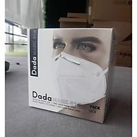 Khẩu trang y tế DaDa Mask VN95 515v - Hộp 5 cái màu xám có van